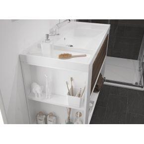 Mueble un cajon con lavabo resina un senos
