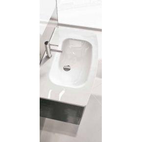 Mueble de baño ROUND+ Lavabo VITREO Blanco