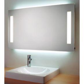 Espejo rectangular Alto 60 cms con iluminacion frontal y Ambiente