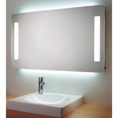 Espejo rectangular con iluminacion frontal y Ambiente