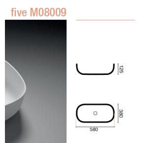 LAVABO PEQUEÑO FIVE M08009