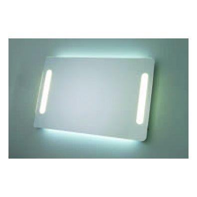 Espejo Rectangulares redondeados Alto 65 cms con iluminación Frontal y ambiente