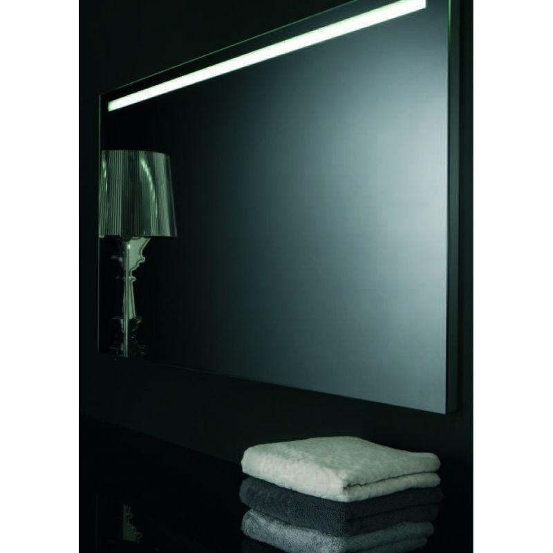 Espejo con luz horizontal alto de 100 cms muebles de ba o for Espejo horizontal